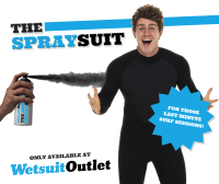 WSO Spray-on Wetsuit