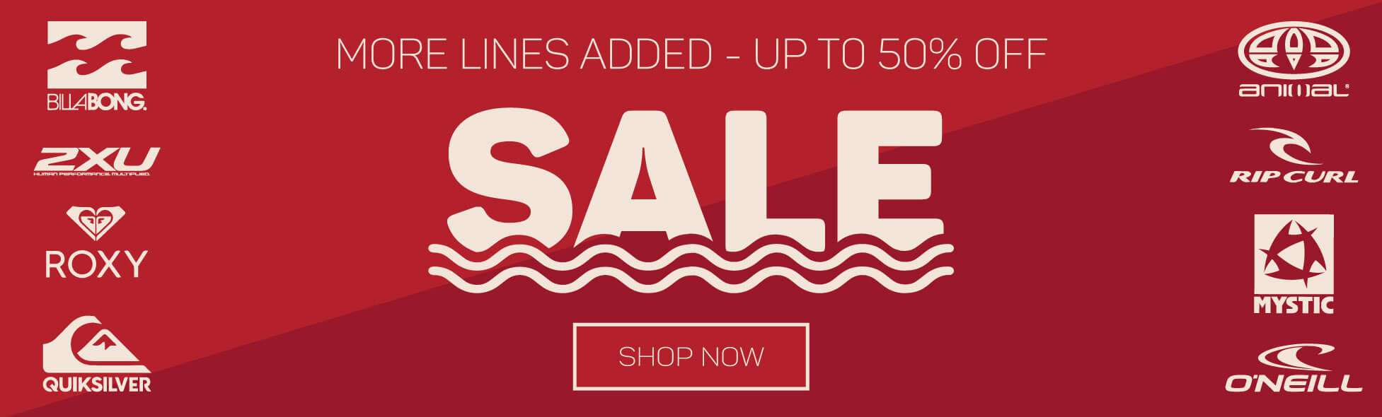 The Big Summer Sale - Up to 50% off