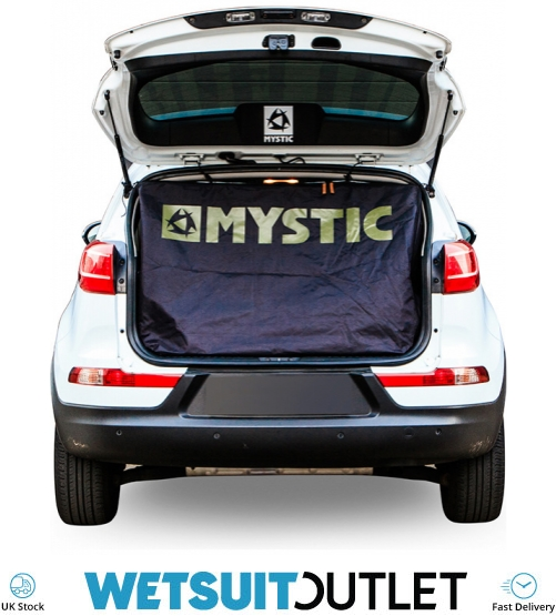 Double White 150340 2018 Mystic Car Seat Cover Black