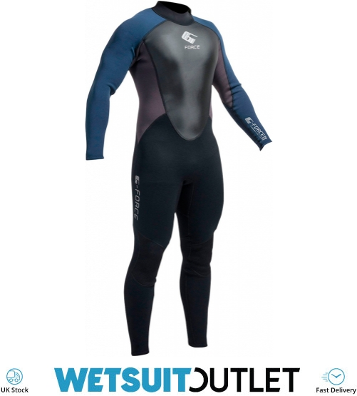 431899ab74 2019 Gul G-force 3mm Mens Wetsuit Black Navy Gf1305-a9 - Mens - 3mm Wetsuits  - by Gul