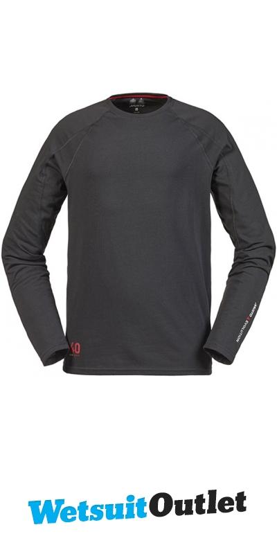 Musto Evolution Sunblock Long Sleeve T Shirt Carbon Se1550
