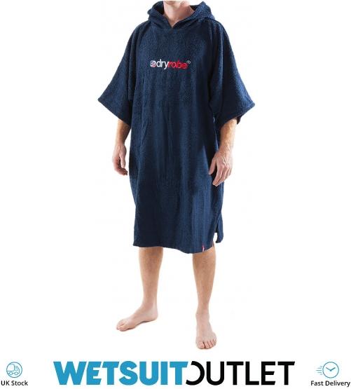 2019 Dryrobe Short Sleeve Towel Change Robe Poncho - Medium in Navy -  Change Robes - Essentials  3eedf2dd4