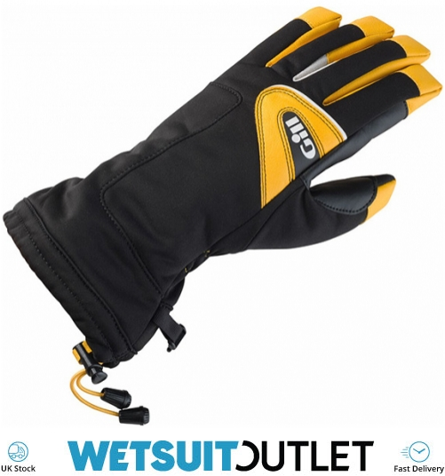2019 Gill Helmsman Glove Black 7804 - 7804 - Long Finger - Sailing