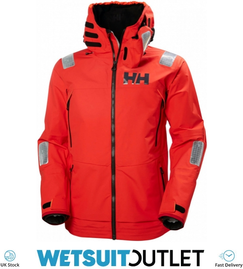 6eccba4f87 2019 Helly Hansen Aegir Race Jacket Alert Red 33869 - Helly Hansen Sailing  Jackets - Jackets | Wetsuit Outlet