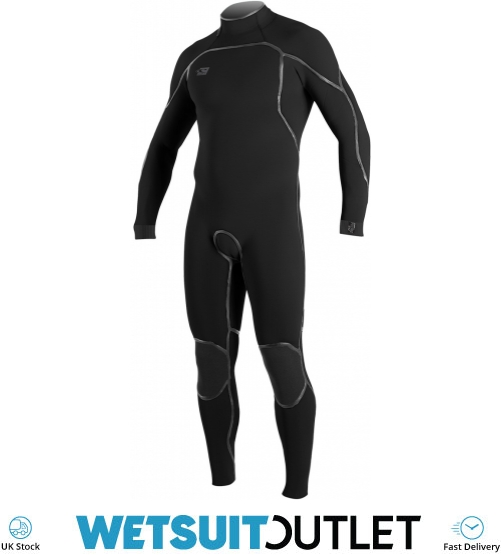2018 Oneill Psycho One 4 3mm Back Zip Wetsuit Black 4965 - 4965 - Mens 4mm  - 4mm Wetsuits - by Oneill  57039cf60