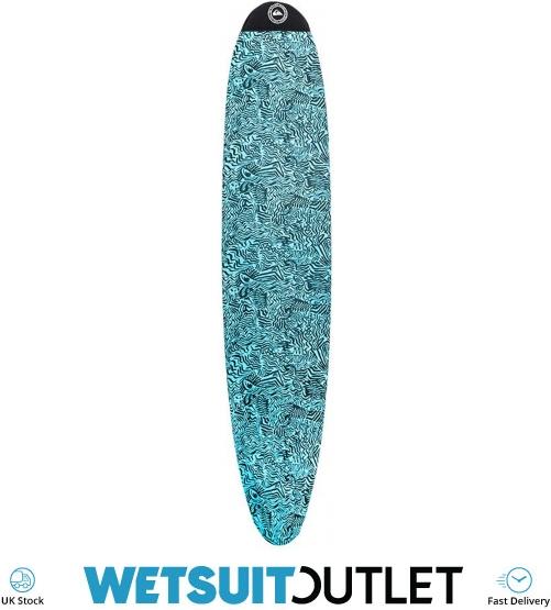 """Ocean /& Earth 9/'0/"""" longboard Surfboard stretch board sock surfboard cover Blue"""