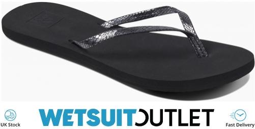 426d15b40b35e Reef Womens Bliss Flip Flops Nights Black RF0A2U1J   Footwear    Wetsuitoutlet   Wetsuit Outlet