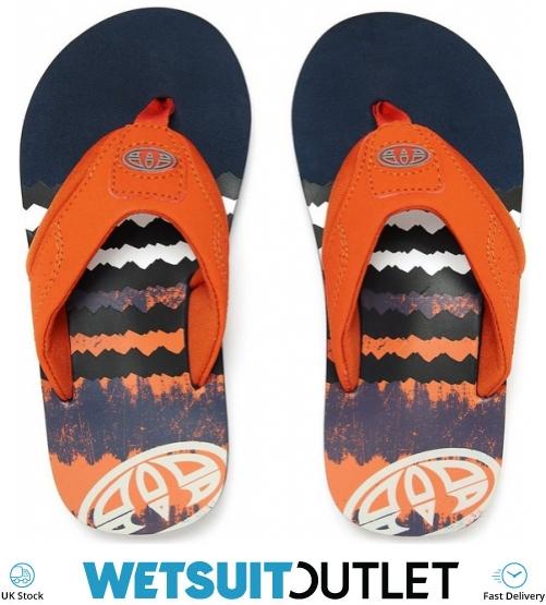 120bb2451 2018 Animal Junior Boys Jekyl Logo Flip Flops Dark Navy Fm8sn600 - Flip  Flops - Footwear