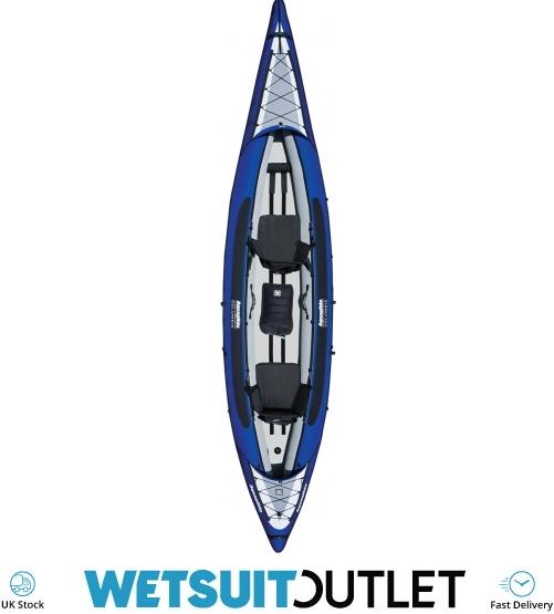 2019 Aquaglide Columbia Xp Tandem Xl Kayak Blue - Kayak Only - Columbia -  Inflatable Kayaks - Inflatable