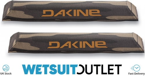 Details about Dakine Aero Roof Rack Pads 46cm Field Camo 18