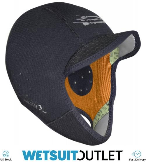 Gul FLEXOR Peaked Wetsuit Hood 3mm 2019 Black