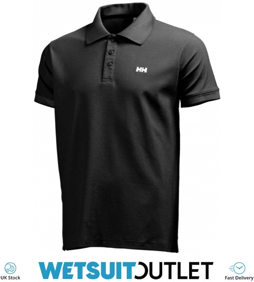 a631689ec8 2019 Helly Hansen Driftline Polo Shirt Black 50584 - Polo Shirts - Shore  Wear - Sailing | Wetsuit Outlet