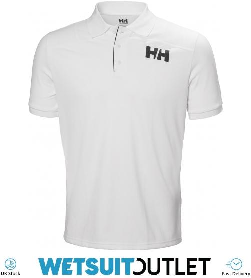 a46ff1a70e 2019 Helly Hansen Mens Lifa Active Light Short Sleeve Polo White 49322 - Polo  Shirts - Shore | Wetsuit Outlet