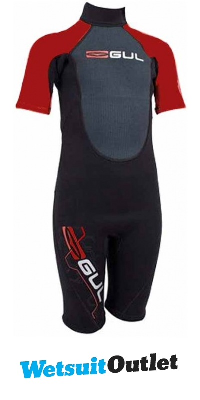 Gul Response Toddler 3 2mm Shorty Re3316 Red - - by Gul - Gul Response Shorty  Boys Re3316 Red X-flex b5d1fc8d5