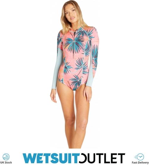 93fb851bea05d 2019 Billabong Womens Salty Dayz 2mm Ls Spring Wetsuit Coral Bay N42g03 -  N42g03 - Womens - Shorty