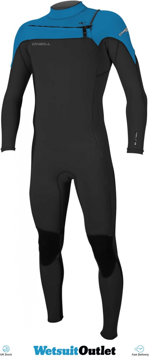 f6380499ca 2018 Oneill Hammer 3 2mm Chest Zip Wetsuit Black Ocean 4926 - Mens - 3mm  Wetsuits - by Oneill