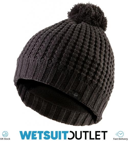 2018 Sealskinz Waterproof Waffle Knit Bobble Hat Grey 131000250000 -  131000250000 - Beanies Skull  bd7946550947