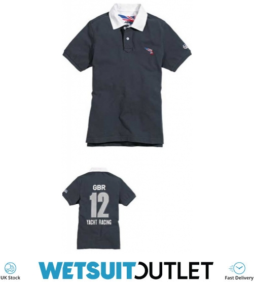 9b7b1d9ddb Musto Stgbr Graphic Polo Shirt - Navy Stgbr0260 - Polo Shirts - Shore Wear  - Sailing | Wetsuit Outlet