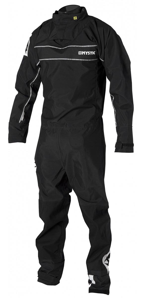2019 Mystic Force Back Zip Drysuit BLACK 140000