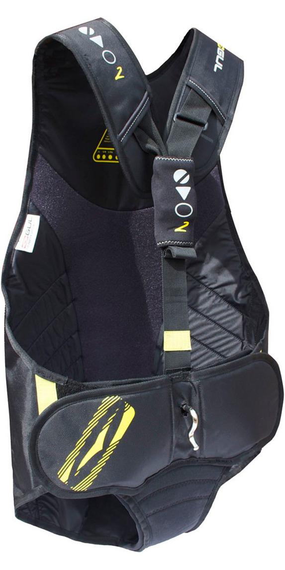 2019 Gul Evolution 2 Trapeze Harness in Black / Yellow GM0374
