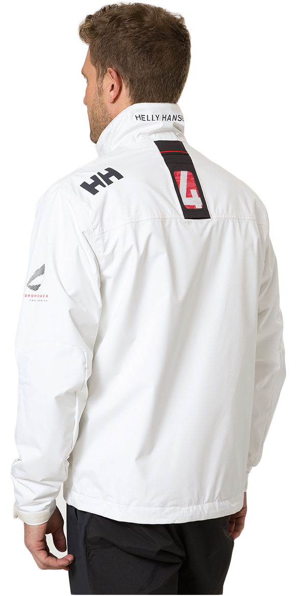 2020 Helly Hansen Crew Midlayer Jacket Bright White 30253
