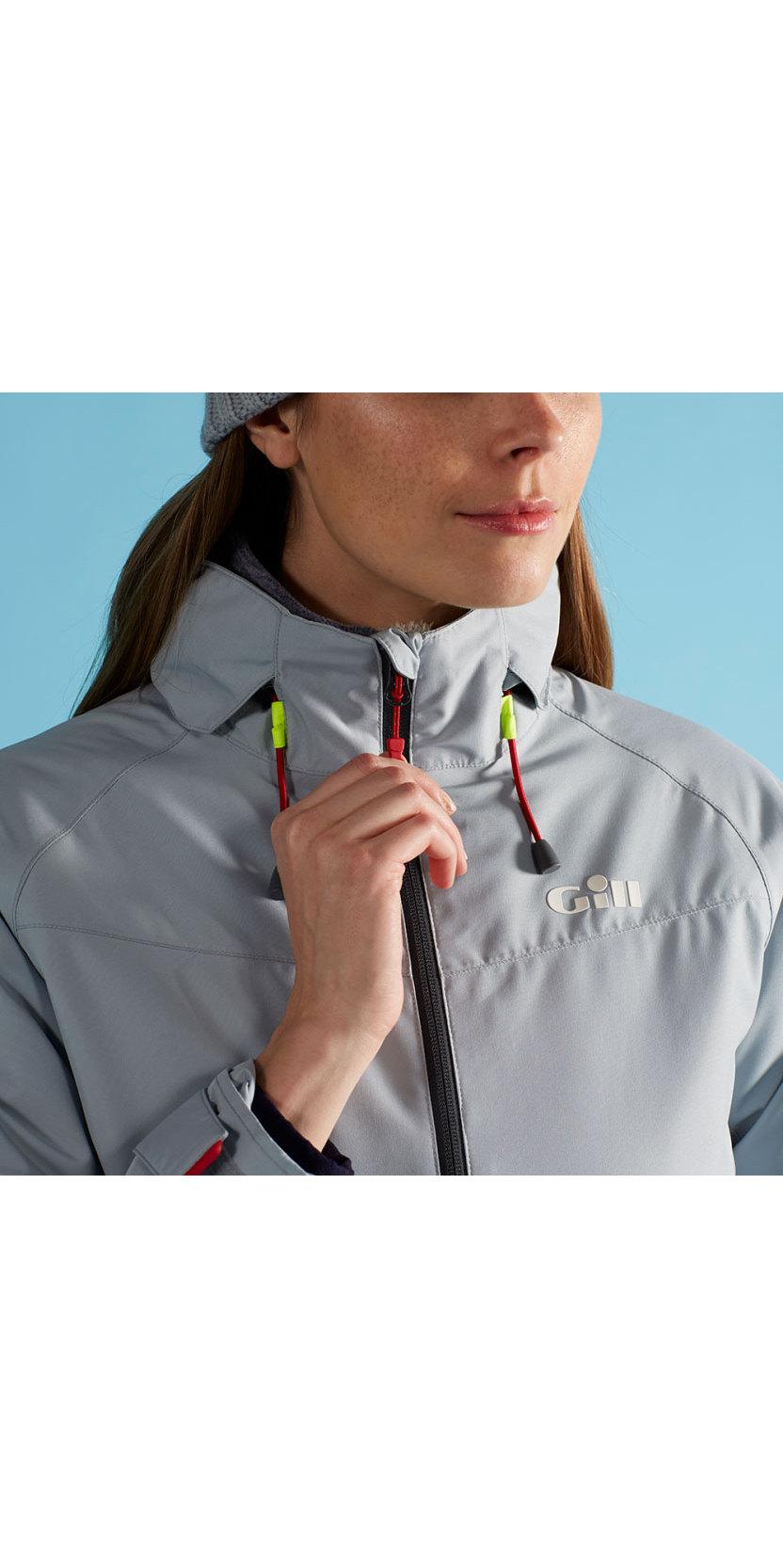 2020 Gill Womens Navigator Jacket Grey IN83JW