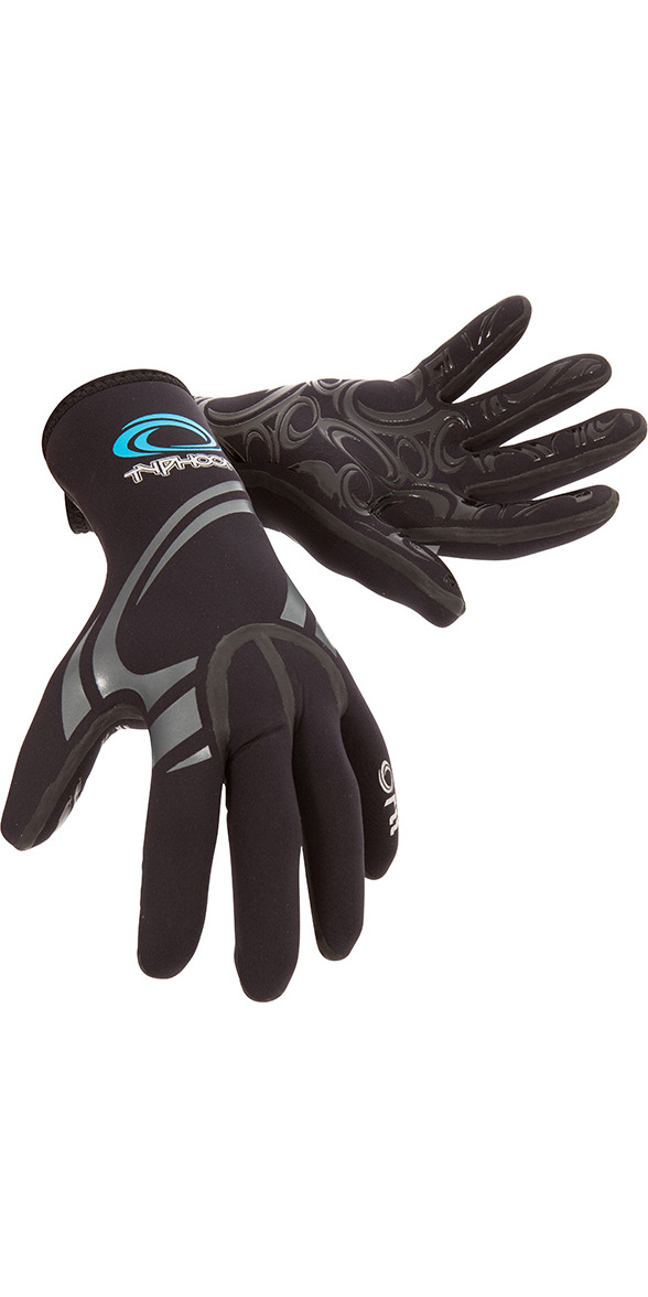 2019 Typhoon Kona 1.5mm GBS Neoprene Gloves Black 310310