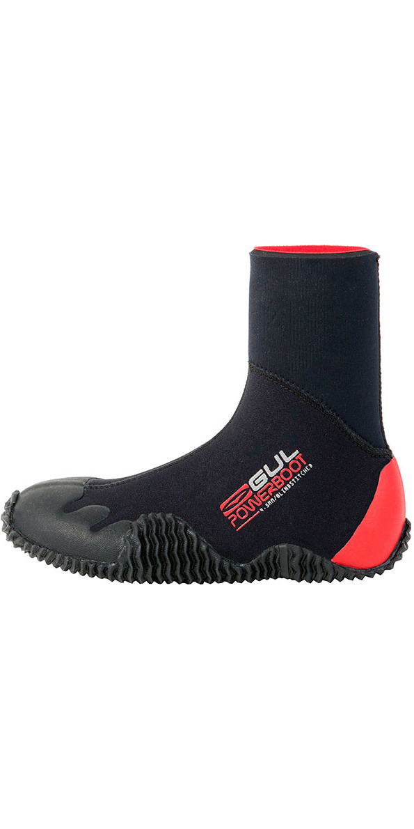 Gul JUNIOR Power 5mm wetsuit Boot BO1264 Black / RED