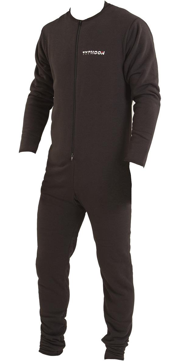 2019 Typhoon Lightweight Drysuit Underfleece Black 200101