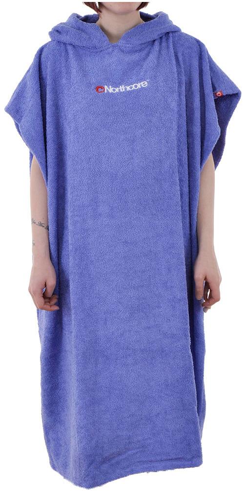2016 Northcore KIDS Beach Basha Changing Robe / Poncho BLUE NOCO24D