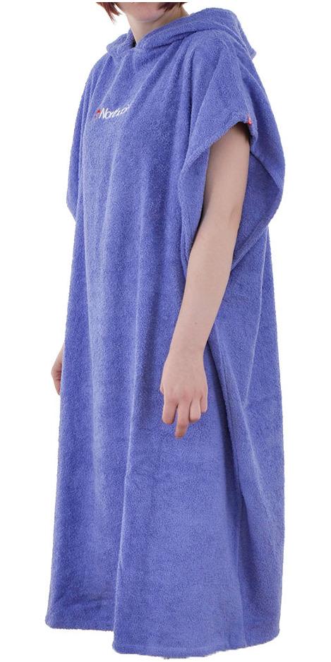 2019 Northcore Beach Basha Changing Robe / Poncho BLUE NOCO24B