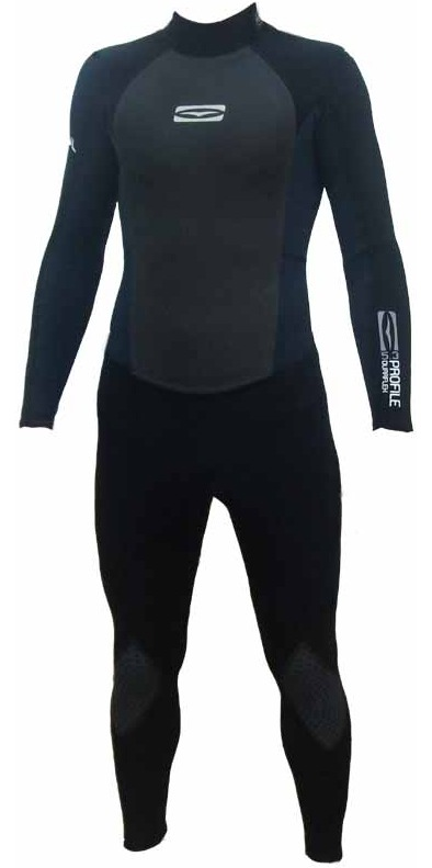 GUL Profile 5/4/3mm Steamer Wetsuit 2009. PR1207. BLACK/BLUE MT ONLY, LAST ONE.