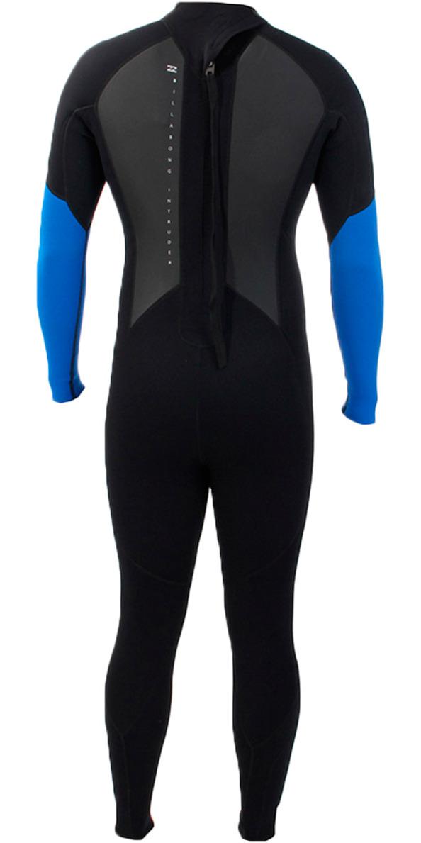 Billabong Toddler Intruder 3/2mm Wetsuit in BLACK / BLUE S43B05