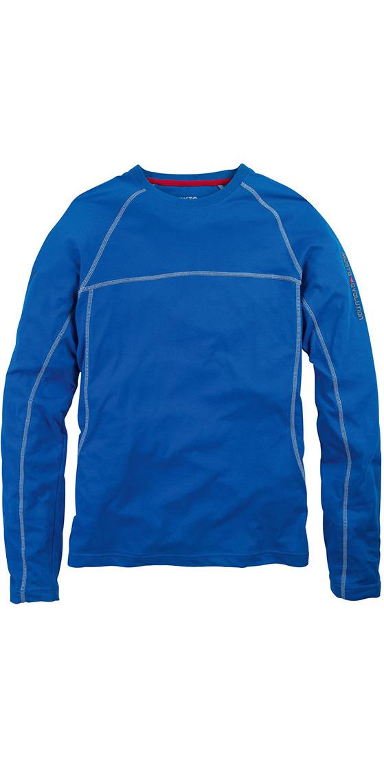 Musto Evolution Sunblock Long Sleeve T Shirt In Marine