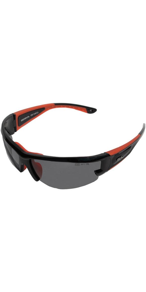 2019 Gul CZ Race Floating Sunglasses BLACK / RED SG0002