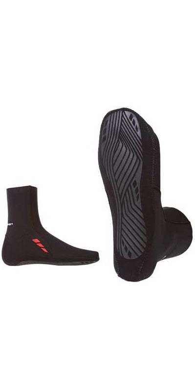 Crewsaver Slate 3mm neoprene wetsuit Sock - BLACK 6359