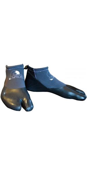 2019 Atan Madi 3mm GBS Split Toe Wetsuit Shoes Black
