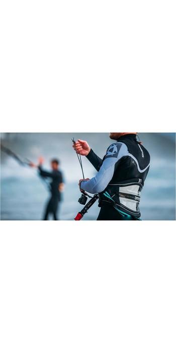 2021 Mystic Len10 Majestic X Kite Waist Harness Black / White 190107