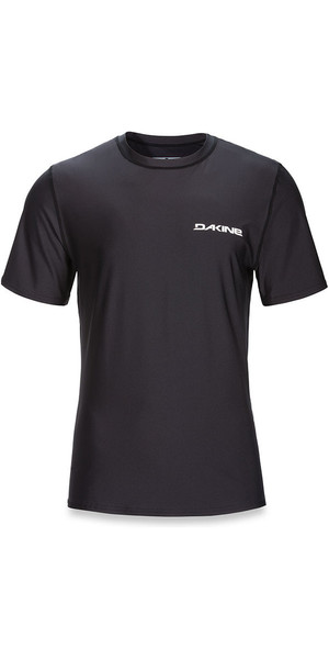 2018 Dakine Heavy Duty Loose Fit Short Sleeve Surf Shirt Black 10001654
