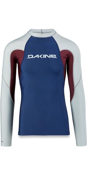 2018 Dakine Heavy Duty Snug Fit Long Sleeve Rash Vest Resin 10001655