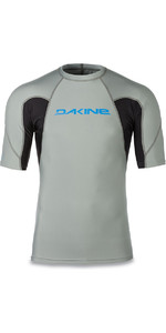 Dakine Heavy Duty Snug Fit Short Sleeve Rash Vest Carbon 10001656
