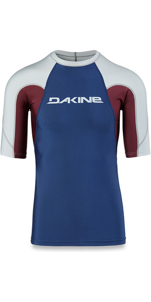 2018 Dakine Heavy Duty Snug Fit Short Sleeve Rash Vest Resin 10001656