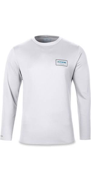 2018 Dakine Inlet Loose Fit Long Sleeve Top White 10001658