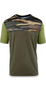 Dakine Intermission Loose Fit Short Sleeve Surf Shirt Field Camo 10001660