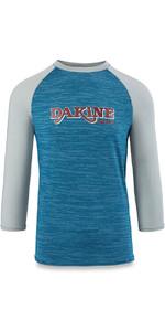 Dakine Roots Ragaln Loose Fit 3/4 Sleeve Surf Shirt Resin Heather 10001665