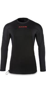 2018 Dakine Storm Snug Fit Long Sleeve Rash Vest Black 10001666