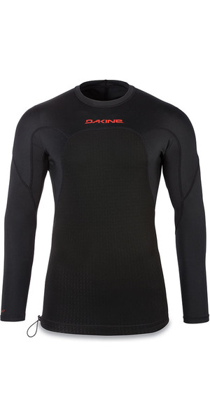 2018 Dakine Storm Snug Fit Long Sleeve Rash Vest Black 10001666