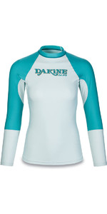 Dakine Womens Flow Snug Fit Long Sleeve Rash Vest Bay Islands 10001678