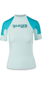 Dakine Womens Flow Snug Fit Short Sleeve Rash Vest Bay Islands 10001680