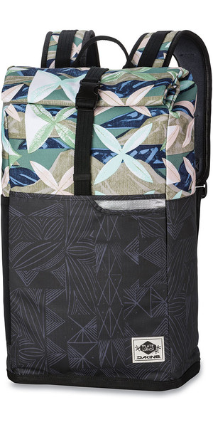 2018 Dakine Plate Lunch Section 28L Wet / Dry Back Pack Island Bloom 10001832
